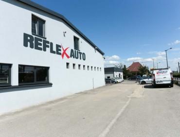 Vue dehors Reflex Auto